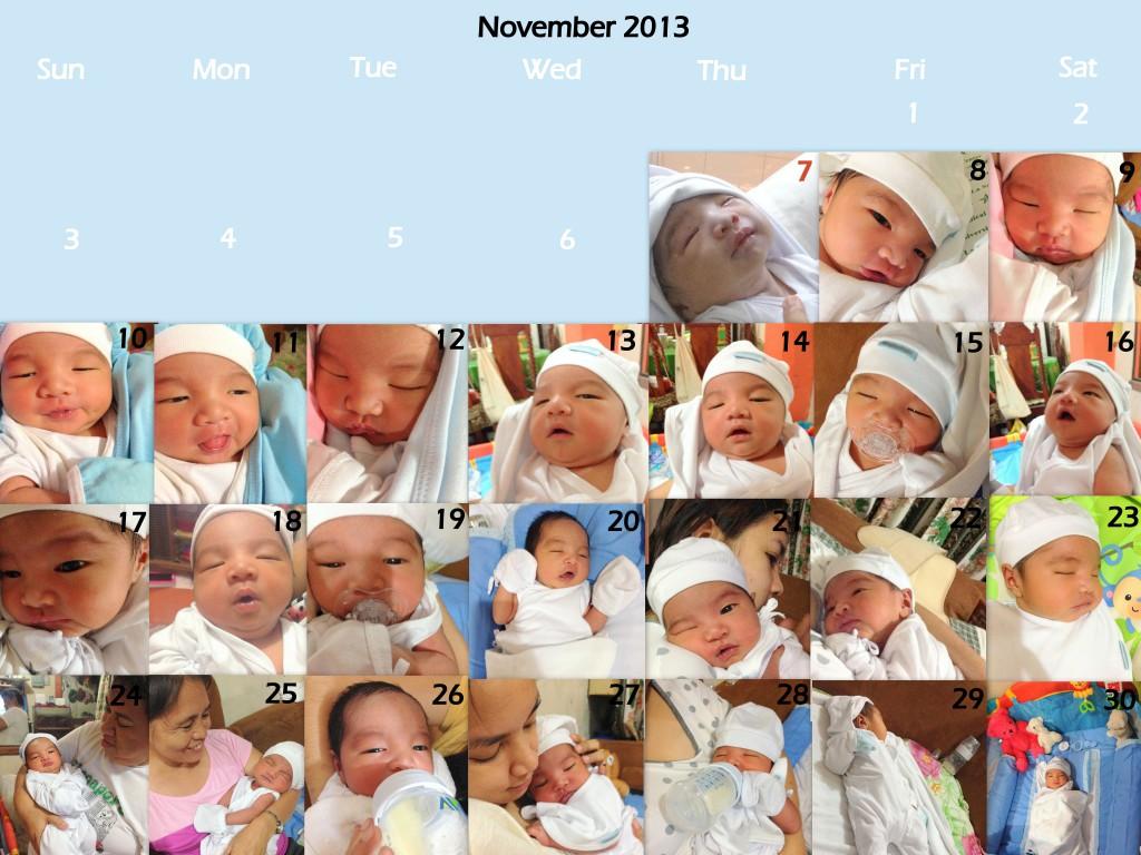nov calendar