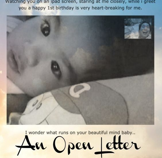 open letter to Marshall (1 year old) - tobringtogether.com