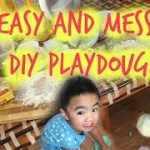 5 ingredient DIY playdough - tobringtogether