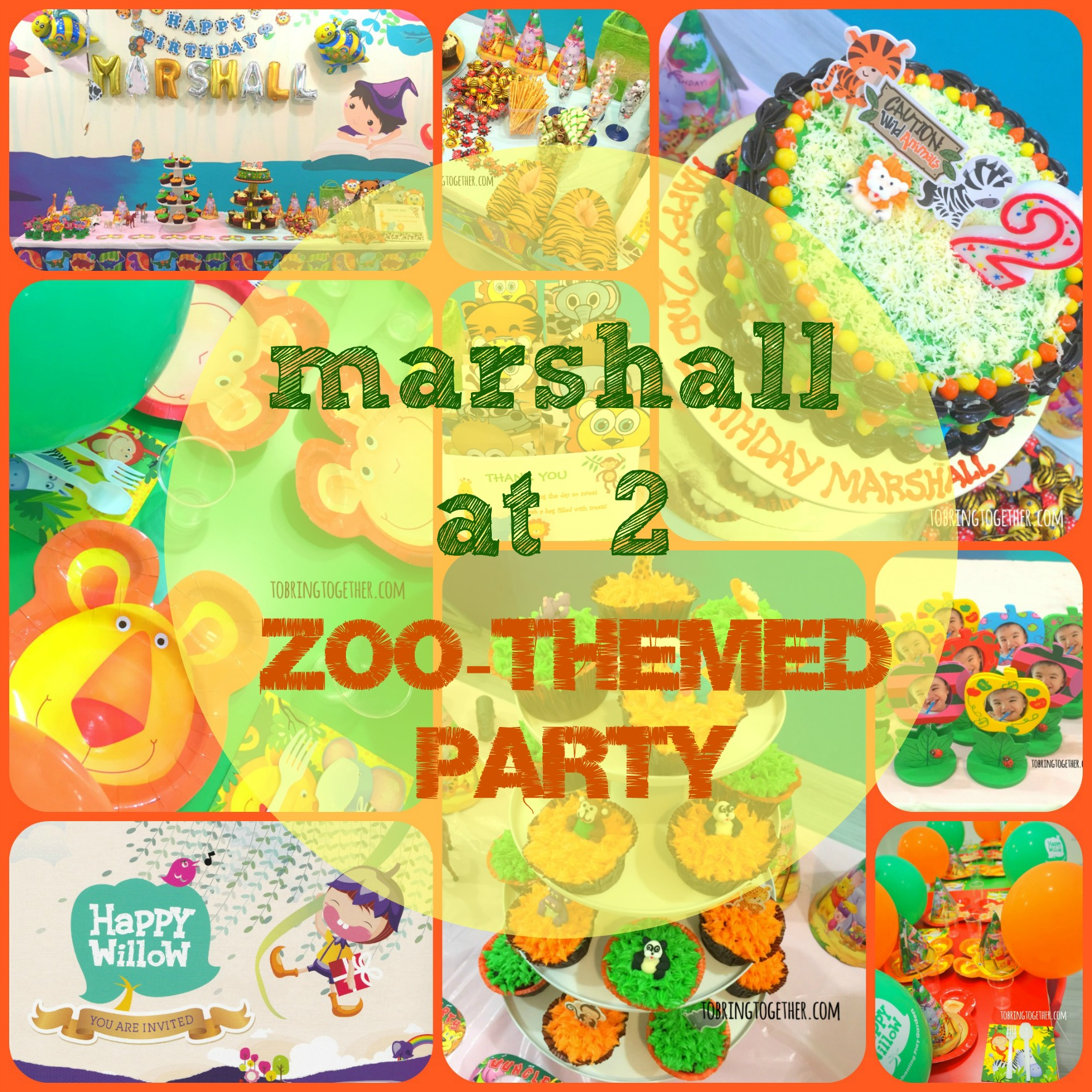 Marshall's DIY Zoo-themed party