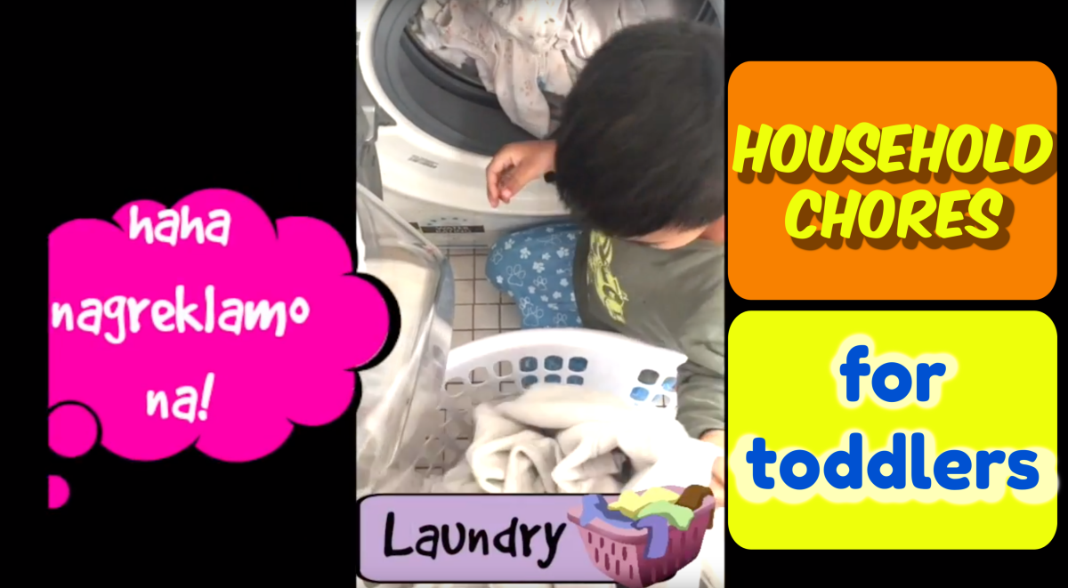 Household chores for toddlers