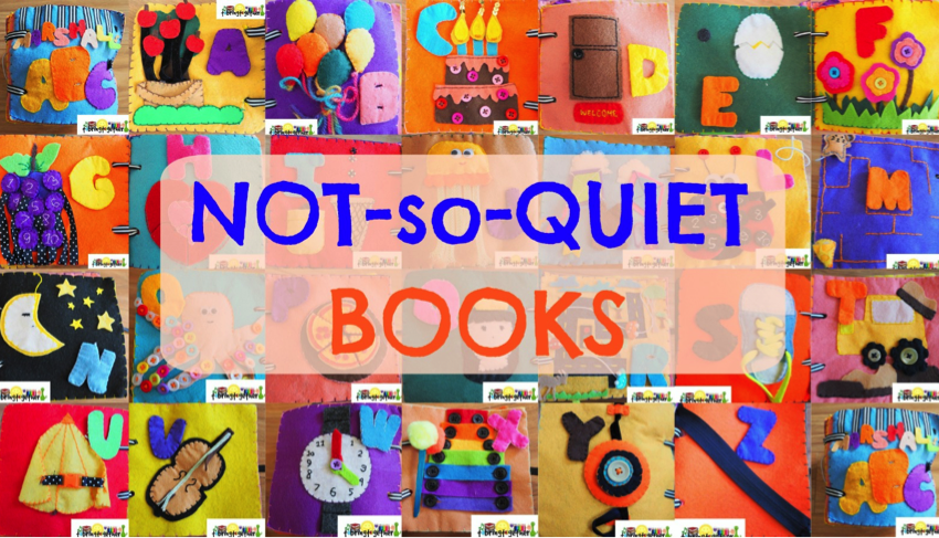 Quiet Books - tobringtogether.com