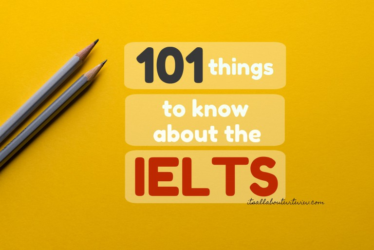 101 things to know about the IELTS