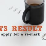 IELTS result remarked