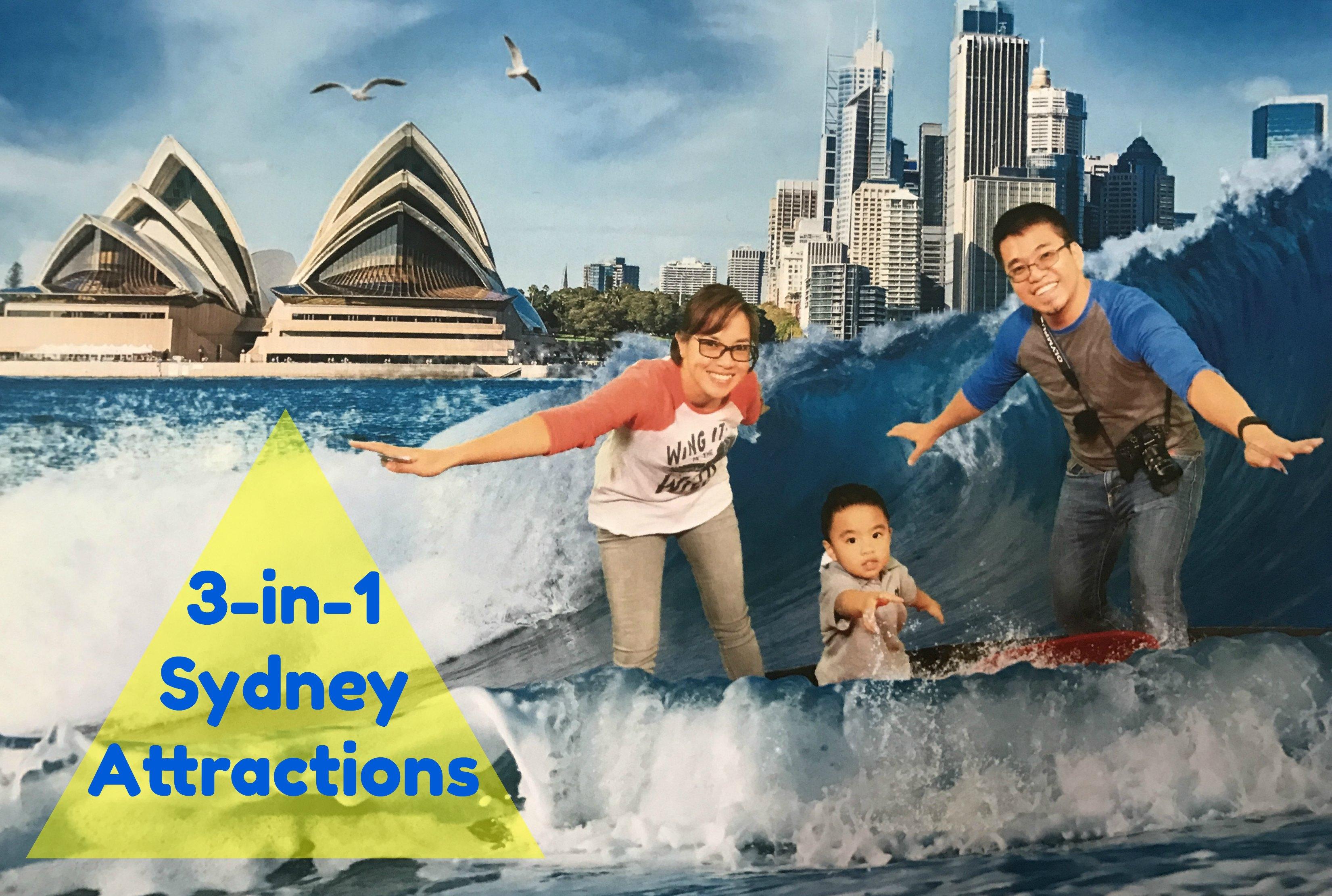 3-in-1 Sydney Australia Attractions NSW, 2016