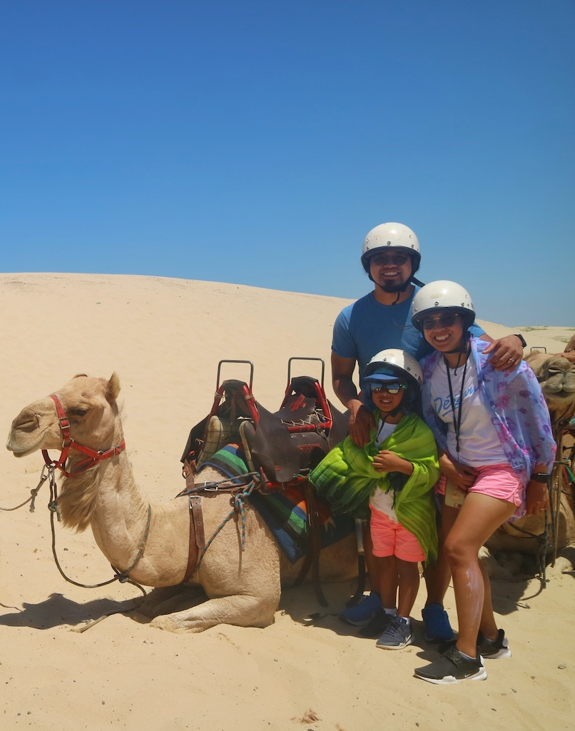 First Camel Ride Experience at Port Stephens