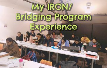 IRON Bridging program experience - tobringtogether.com