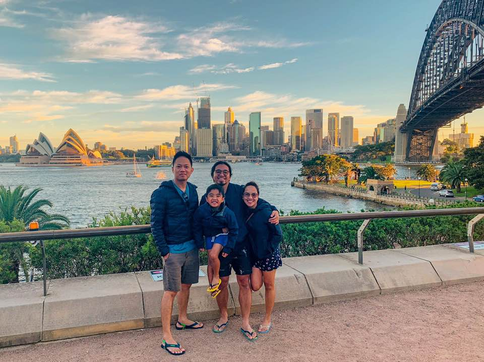 at Milsons Point
