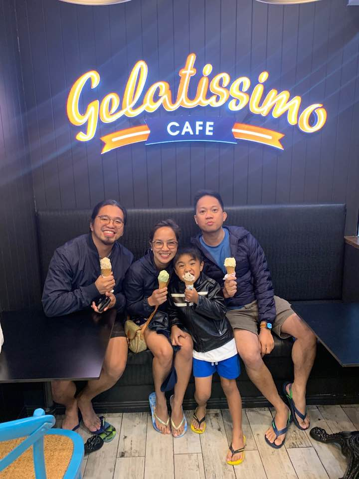Gelatissimo at Milsons Point NSW