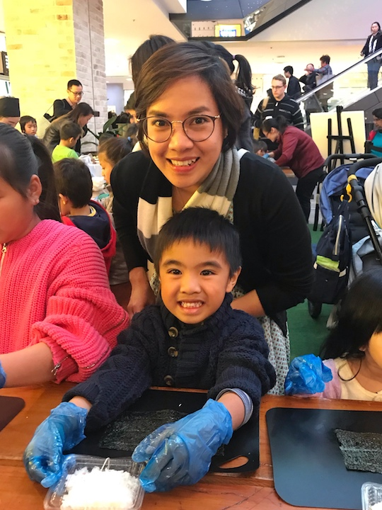 Sushi Making at Westfield - tobringtogether.com