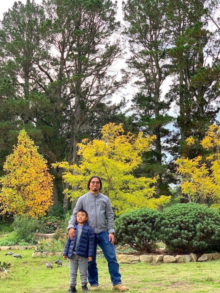 Autumn Shot at Sunnataram Monastery - tobringtogether