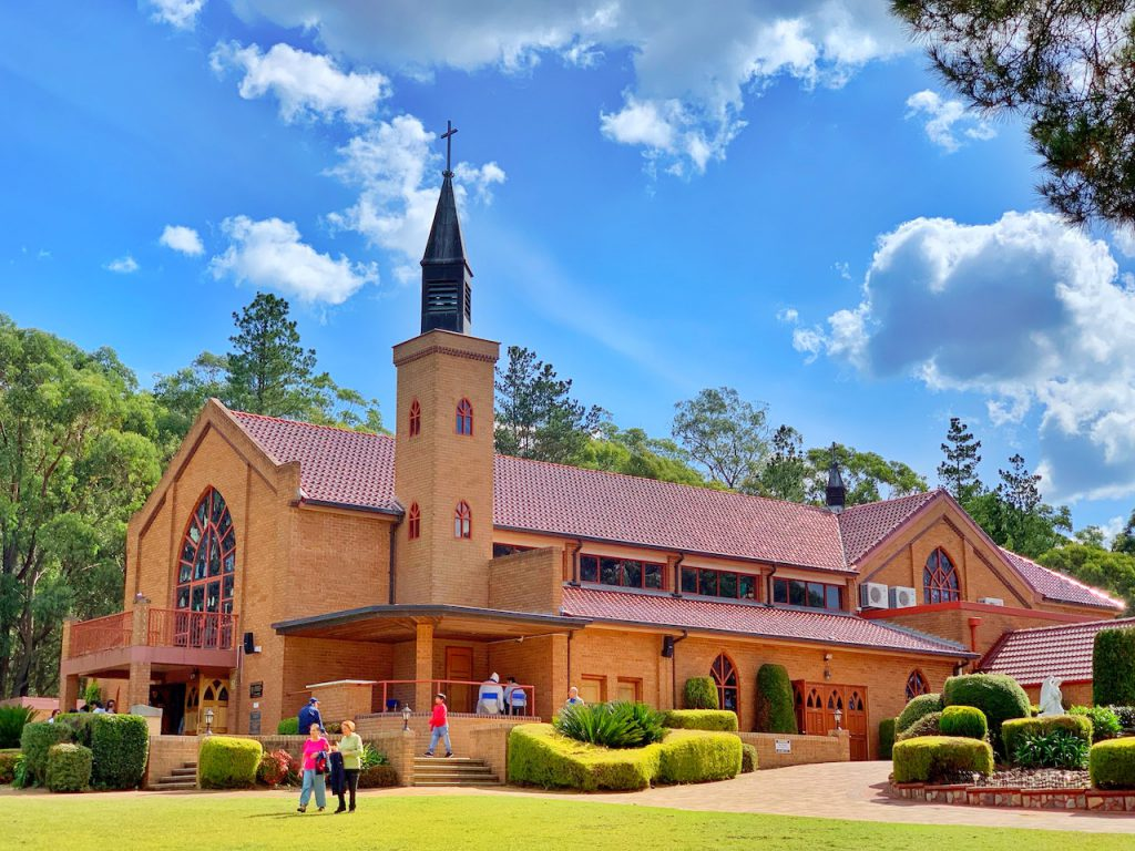 Shrine of Our Lady of Mercy Penrose Park NSW - tobringtogether.com