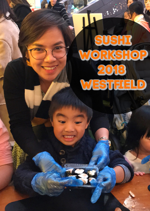 Marshall's Sushi Workshop Experience 2018 at Westfield