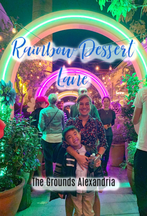 The Grounds Alexandria, NSW – Rainbow Dessert Lane 2019