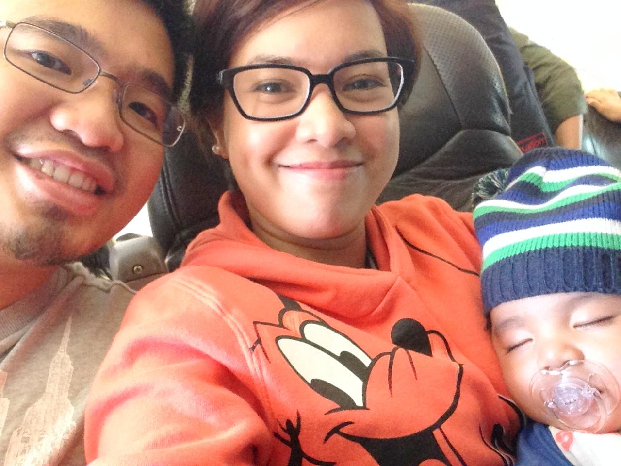 First flight to Singapore - tobringtogether