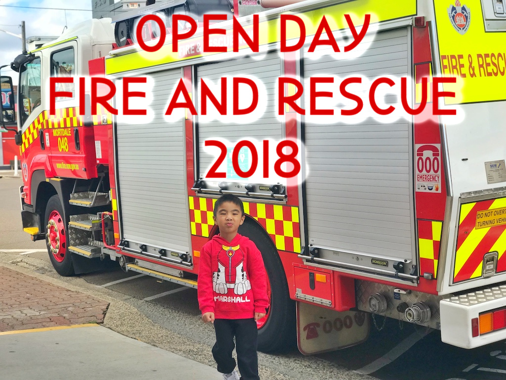 Open day Fire Rescue NSW 2018