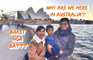 Why are we here in Australia?
