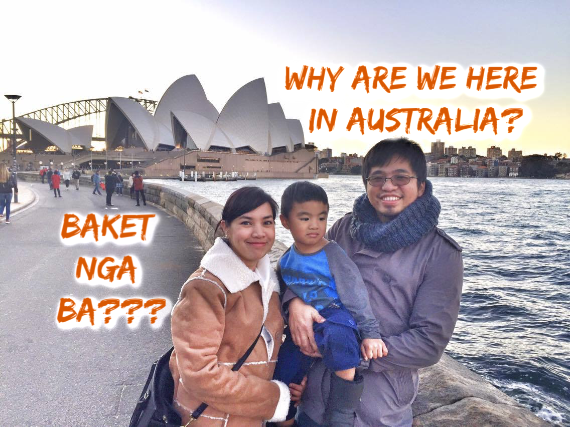 Why are we really here in Australia???