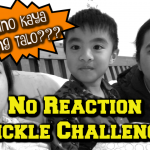 no reaction tickle challenge
