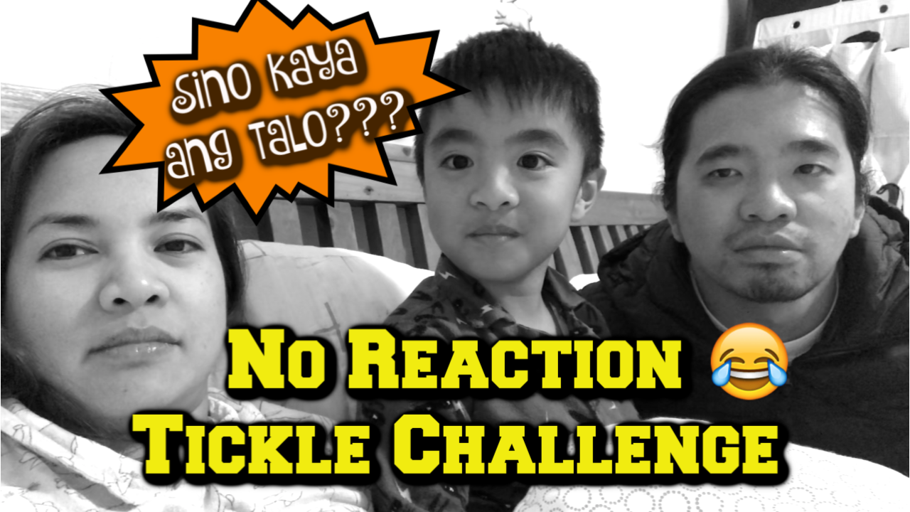No reaction/ No laughing tickle challenge