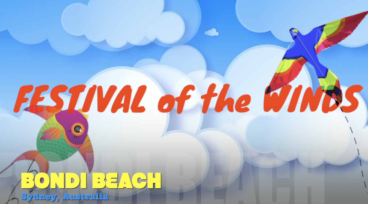Festival of the Winds at Bondi Beach NSW, 2017 – what to expect