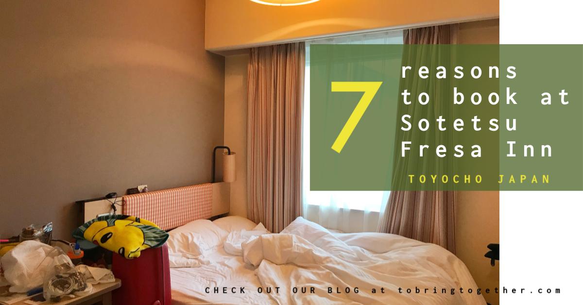 7 Reasons to book at Sotetsu Fresa Inn Tokyo-Toyocho, JAPAN