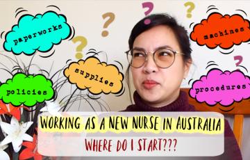 Working as a new nurse in Australia