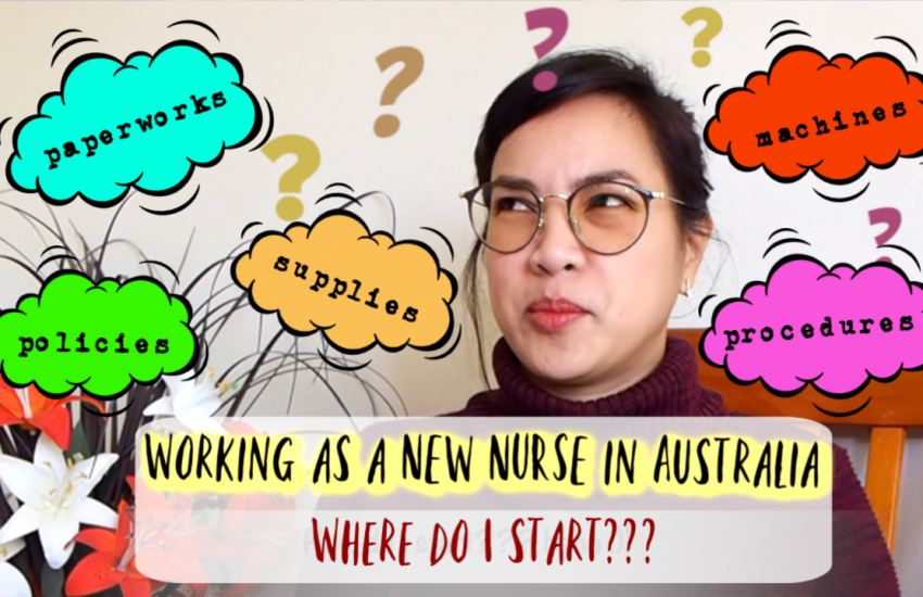 Working as a new nurse in Australia