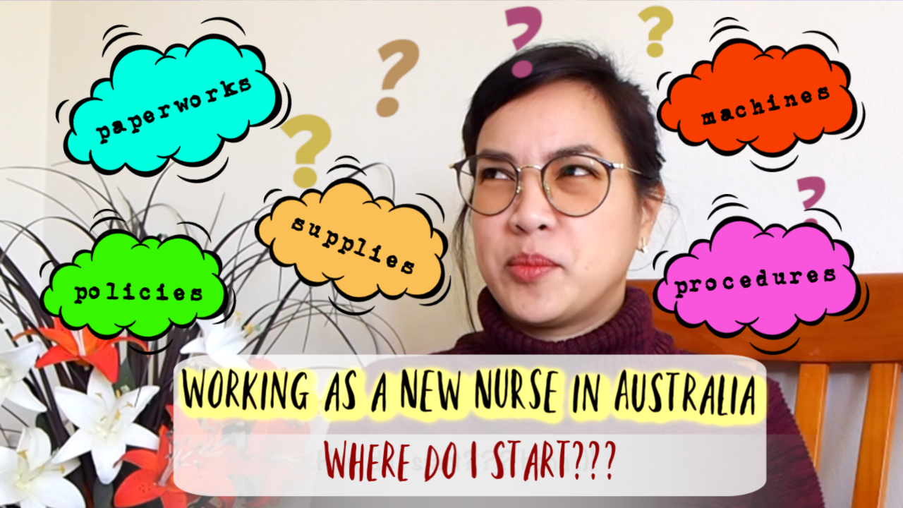 Working as a new nurse in Australia | Filipino nurse work experience in Australia | Supernumerary Shift