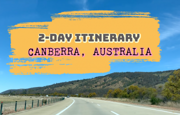 2 day Canberra Itinerary