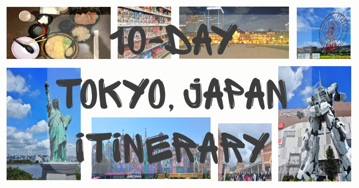 Fun in Japan – 10 Day Itinerary Tokyo, Japan 2018