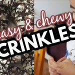 Easy and Chewy Chocolate Crinkles